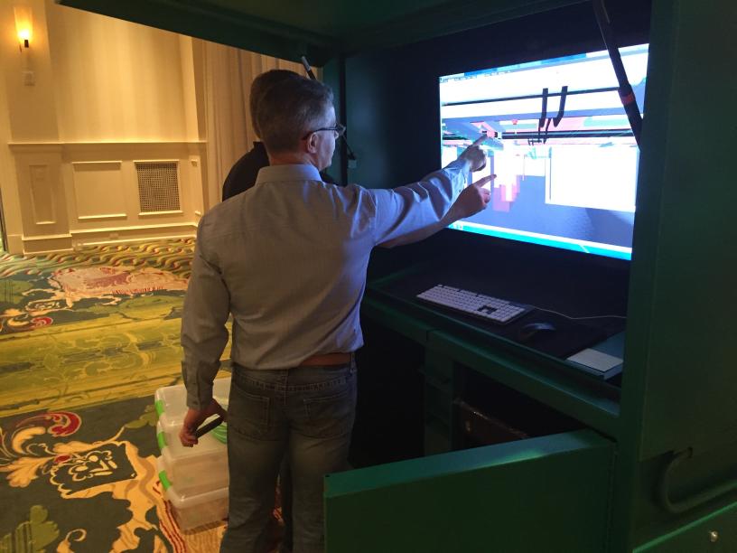 Touchscreen speeds collaboration