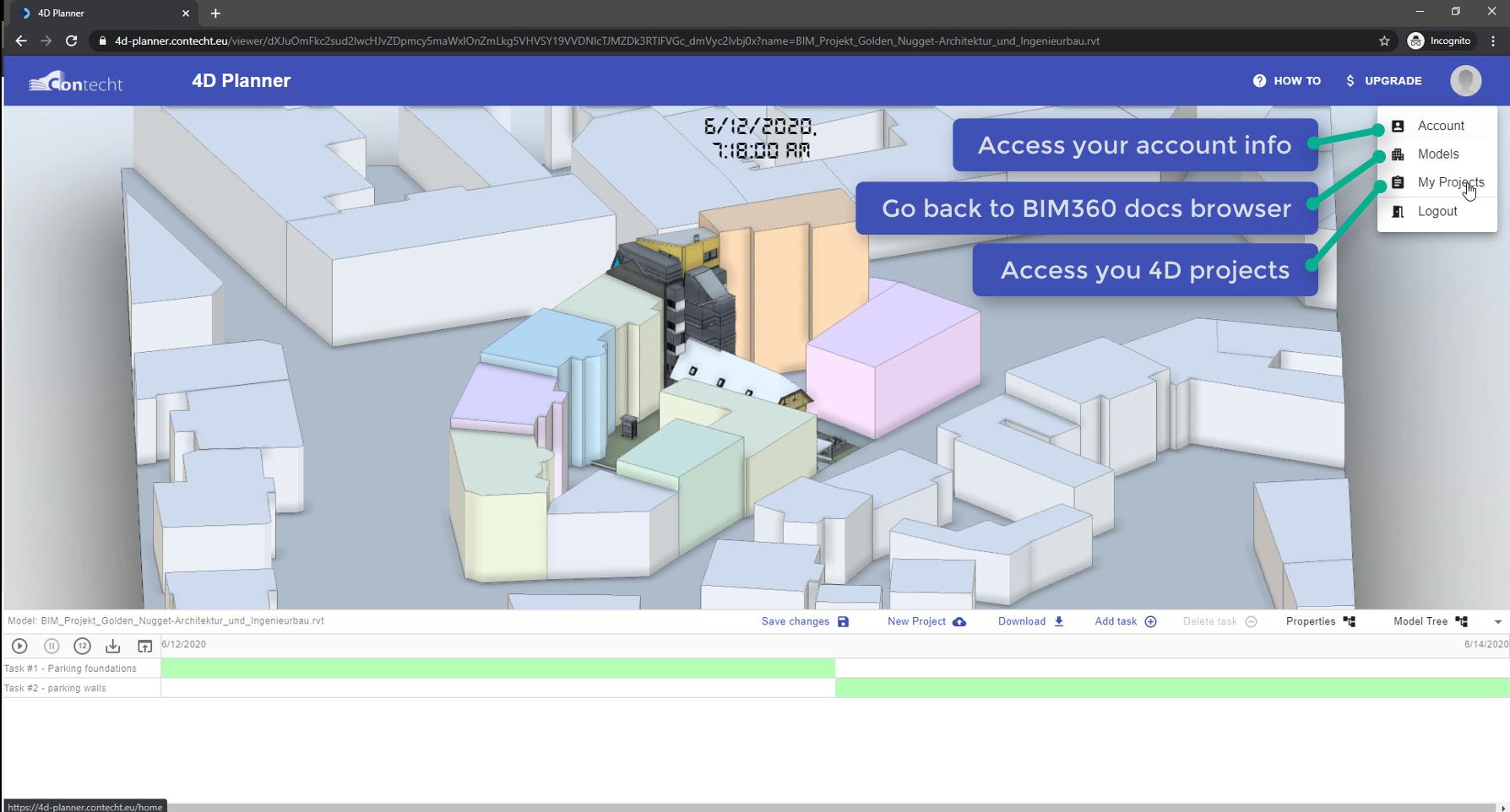 4D Planner-Navigate Account