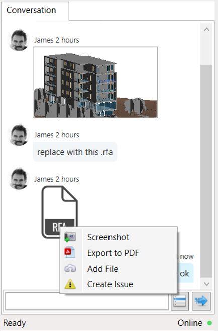 send screenshot & files