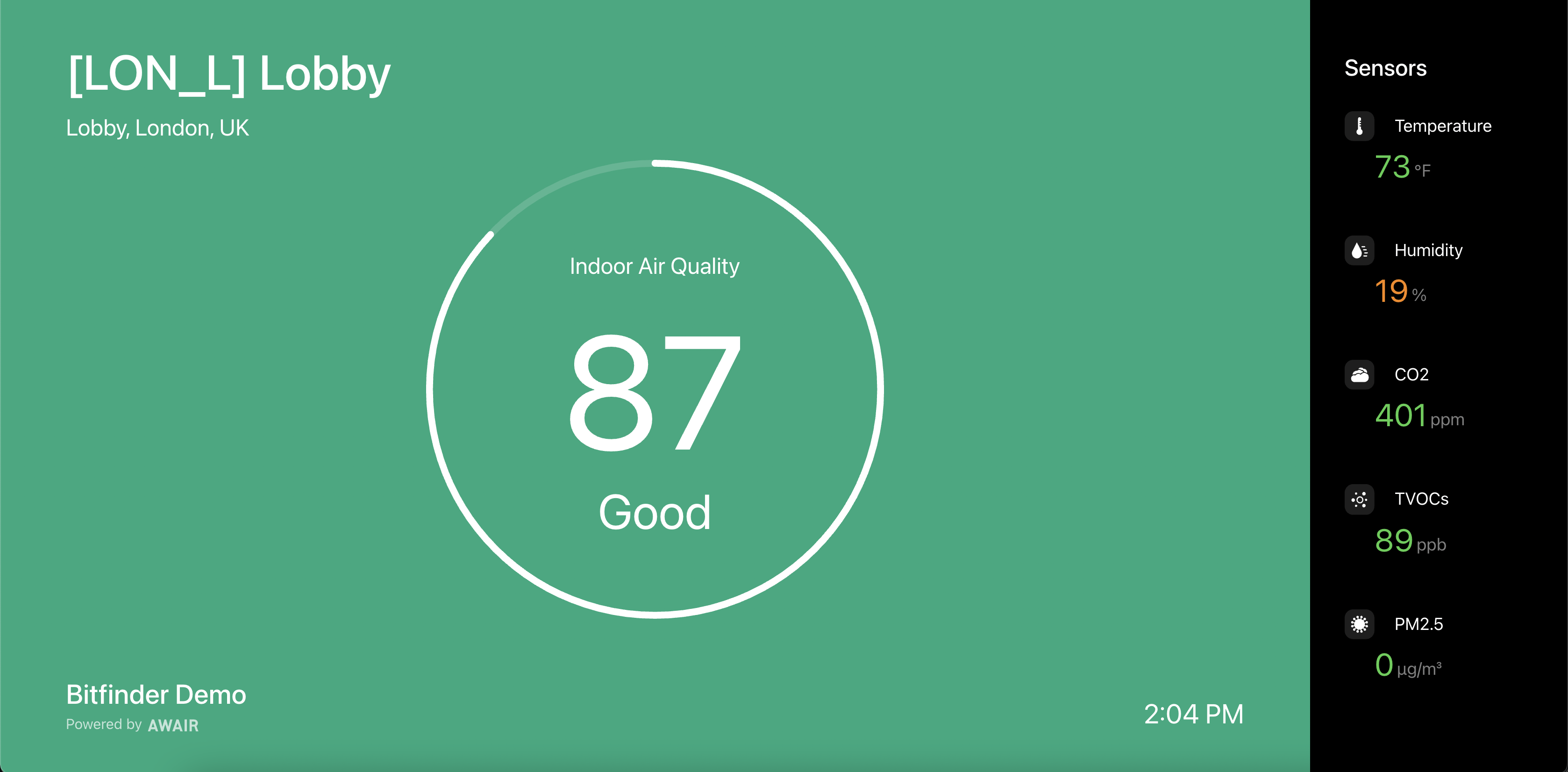 Display Mode - Screenshot