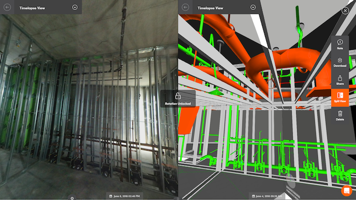 StructionSite Navisworks Side By Side A