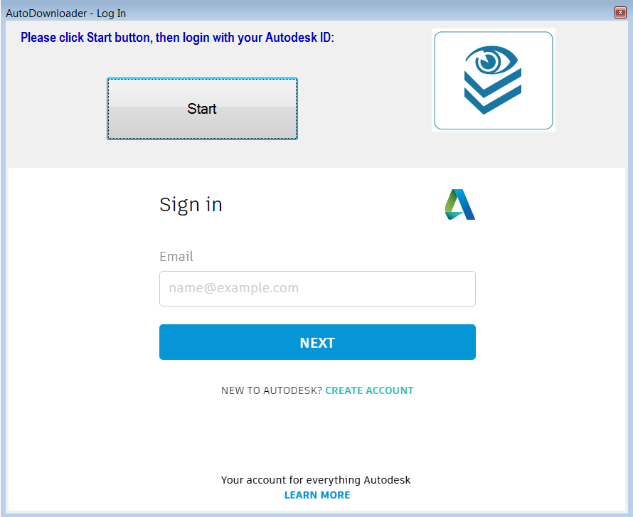 AutoDownloader Screen 1