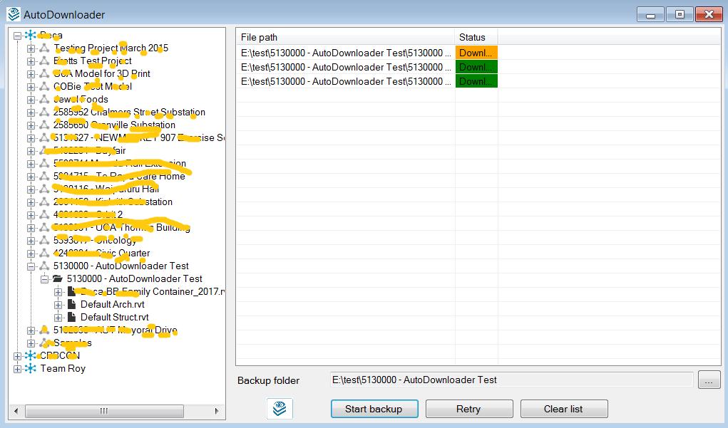 AutoDownloader Screen 2