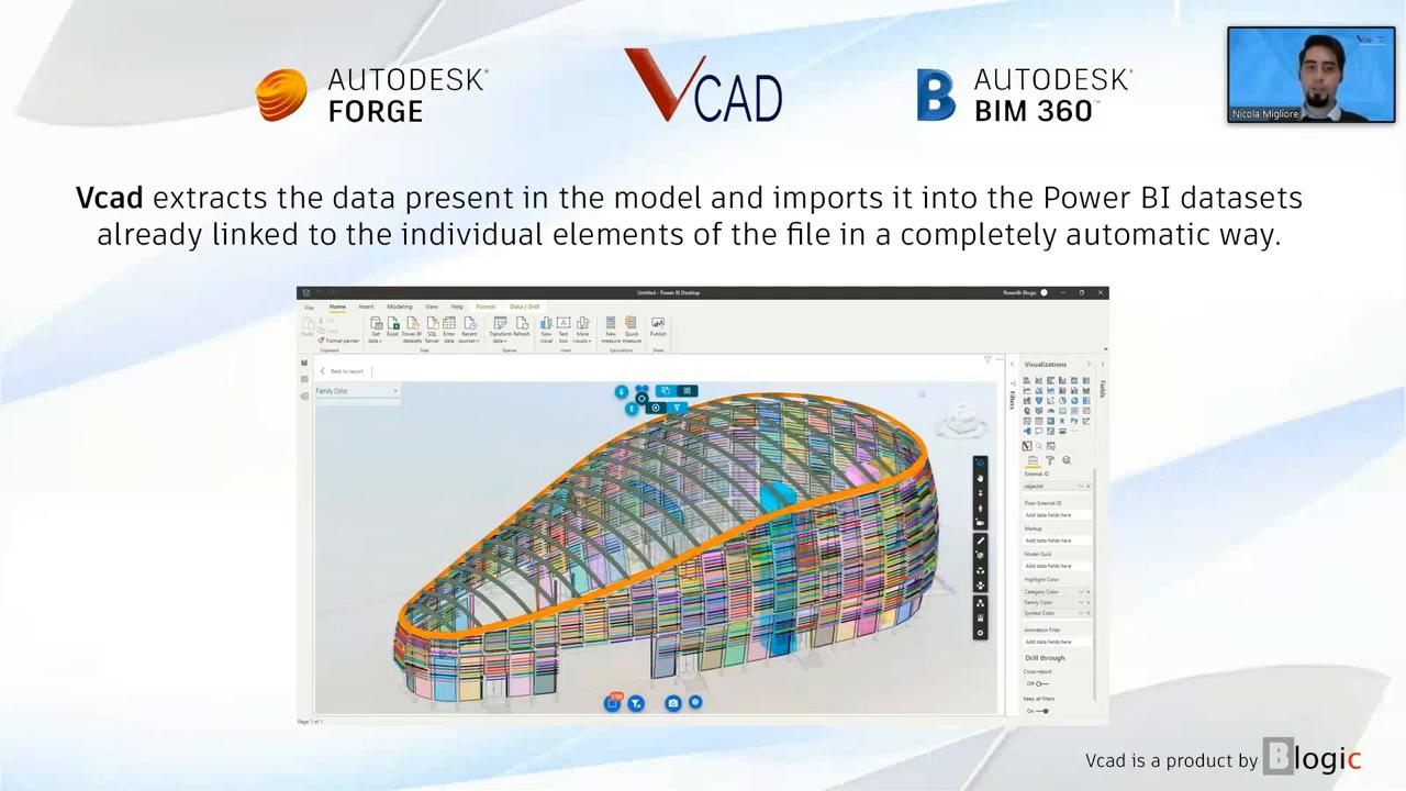 Vcad for Bim360 - Autodesk Bim360 and Power BI intergation